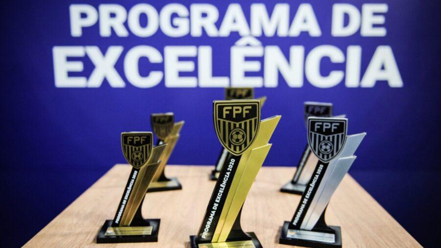 Programa de Excelência da FPF distribui R$ 1 milhão em prêmios aos clubes