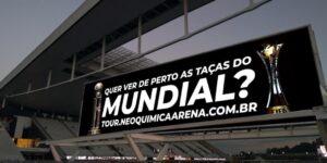 Provocação ao rival? Corinthians fará exposição dos troféus do Mundial na NeoQuímica Arena