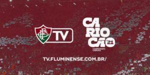 Fluminense lança streaming da FluTv para jogos do Carioca