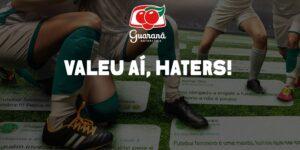 Guaraná transformará ofensas ao futebol feminino em grama para campo de futebol