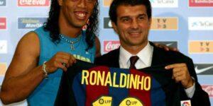 Responsável por contratar Ronaldinho, Joan Laporta é o novo presidente do Barcelona