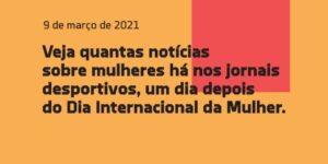 Diferença de visibilidade do esporte feminino vira ação em Portugal