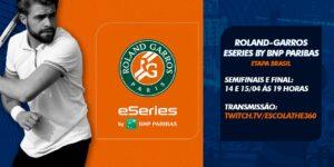 Brasil recebe classificatória do torneio de eSports de Roland Garros