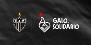 Atlético Mineiro lança campanha de combate à fome