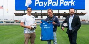 PayPal fecha naming rights de estádio do San Jose Earthquakes