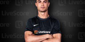 Cristiano Ronaldo é o novo embaixador global do LiveScore