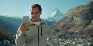 Com Robert De Niro, Federer promove Suíça como destino turístico