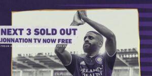 Após esgotar ingressos, Orlando City abre jogo no streaming
