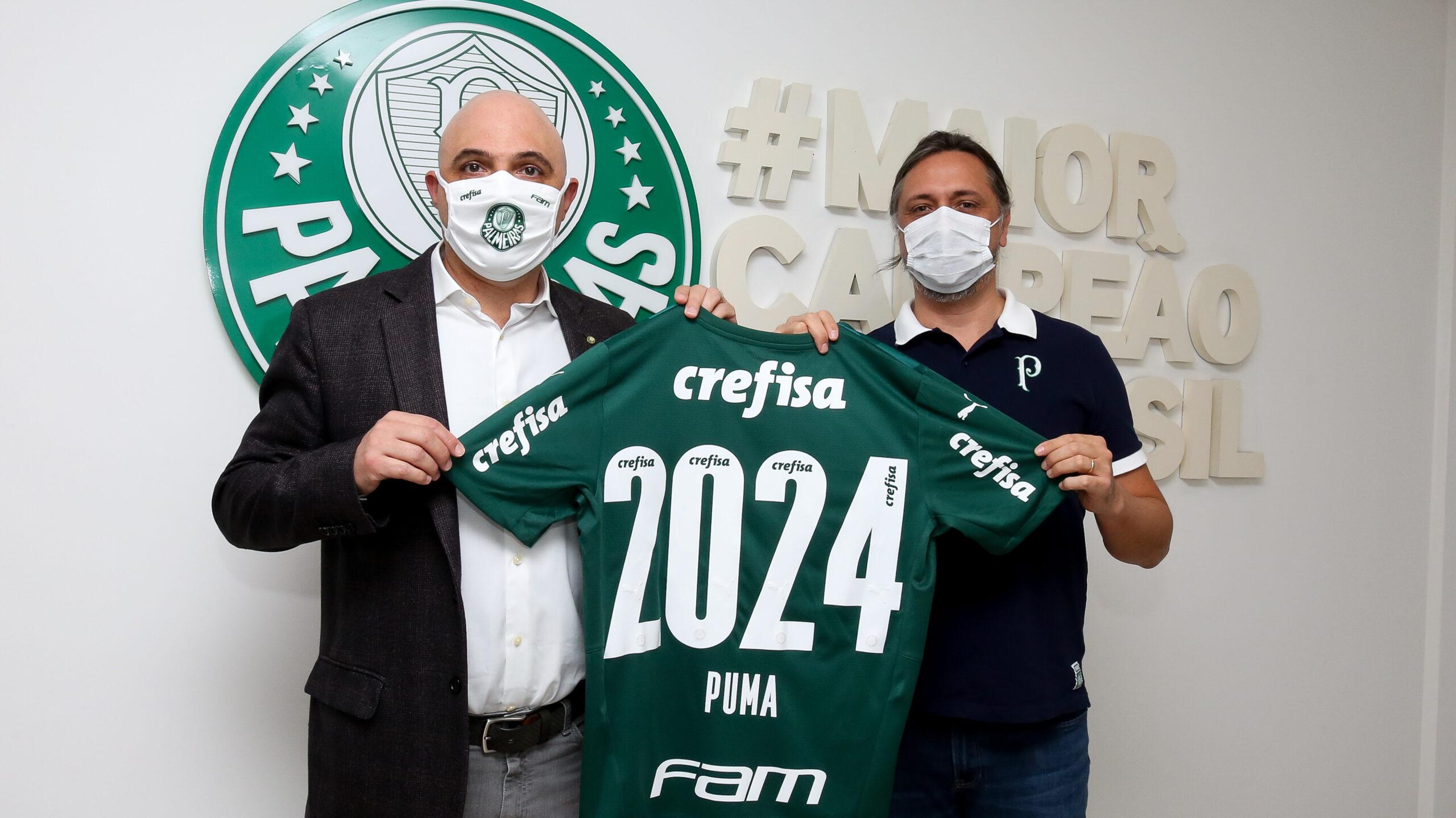 PUMA e Palmeiras renovam parceria até 2024