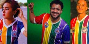 """Bahia lança """"Manifesto LGBT"""" e nova camisa nas cores do arco-íris"""