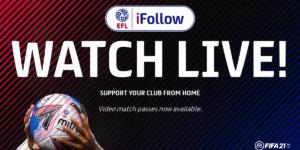 Escalões menores do futebol inglês embolsaram £ 42 milhões com streaming