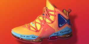 Nike apresenta tênis de LeBron James que será usado em 'Space Jam 2'