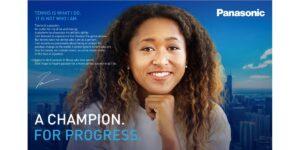 Naomi Osaka fecha parceria de dois anos com Panasonic