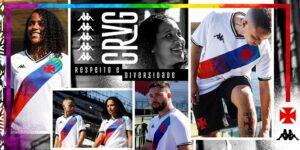 Vasco lança camisa e histórico manifesto contra a homofobia