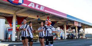 ALE Combustíveis patrocina equipe feminina do Atlético Mineiro