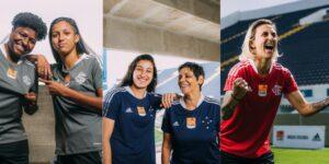 adidas lança camisas comemorativas femininas de Cruzeiro, Flamengo e Internacional