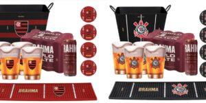 Para se aproximar dos fãs, Brahma aposta em produtos licenciados dos clubes parceiros