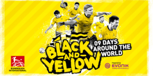 Turnê virtual do Borussia Dortmund terá Amoroso e Ewerthon no Brasil