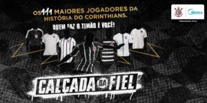 """Com apoio da Midea, Corinthians cria votação para """"Calçada da Fiel"""""""