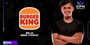 Burger King investe nos eSports com patrocínio a torneio de Free Fire