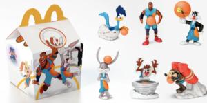McDonald's terá brinquedos do novo Space Jam no McLanche Feliz