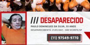 São Paulo faz campanha para ajudar a encontrar pessoas desaparecidas