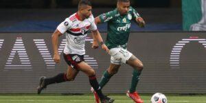 SBT bate a Globo com Palmeiras x São Paulo na Libertadores