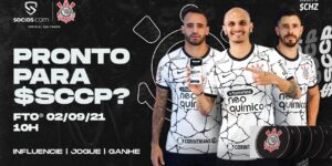 Corinthians terá oferta inicial do Fan Token $SCCP na quinta-feira