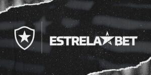 Botafogo anuncia parceria com a EstrelaBET até o final da temporada