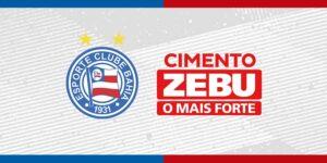 Cimento Zebu é o novo patrocinador do Bahia
