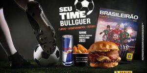 Bullguer, Red Bull e Panini unem forças em ação relacionada ao Brasileirão