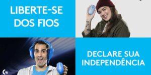 Douglas Souza, do vôlei, estrela nova campanha da Logitech