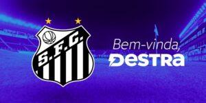 Santos FC fecha parceria de licenciamento com a Destra