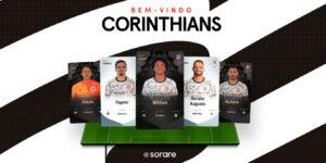 Corinthians avança no mercado cripto e lança NFTs colecionáveis com Sorare