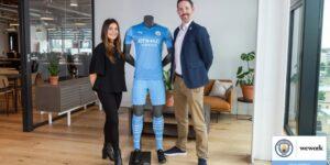 WeWork é a nova parceira do Manchester City e do New York City FC