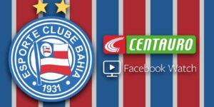 Bahia fecha com Facebook e Centauro para a produção de conteúdos exclusivos