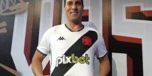 Com Edmundo de embaixador, Vasco oficializa patrocínio máster da PixBet