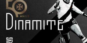 Vasco lança financiamento coletivo para estátua de Roberto Dinamite