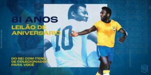 Play For a Cause promove leilões em homenagem ao Rei Pelé